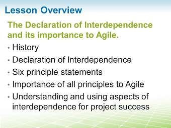 Sample 1: Declaration of Interdependence