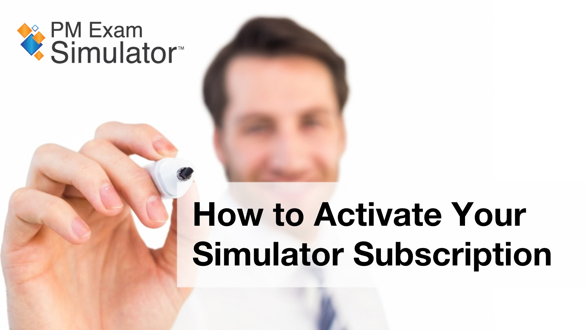 How to Activate your Simulator Subscription