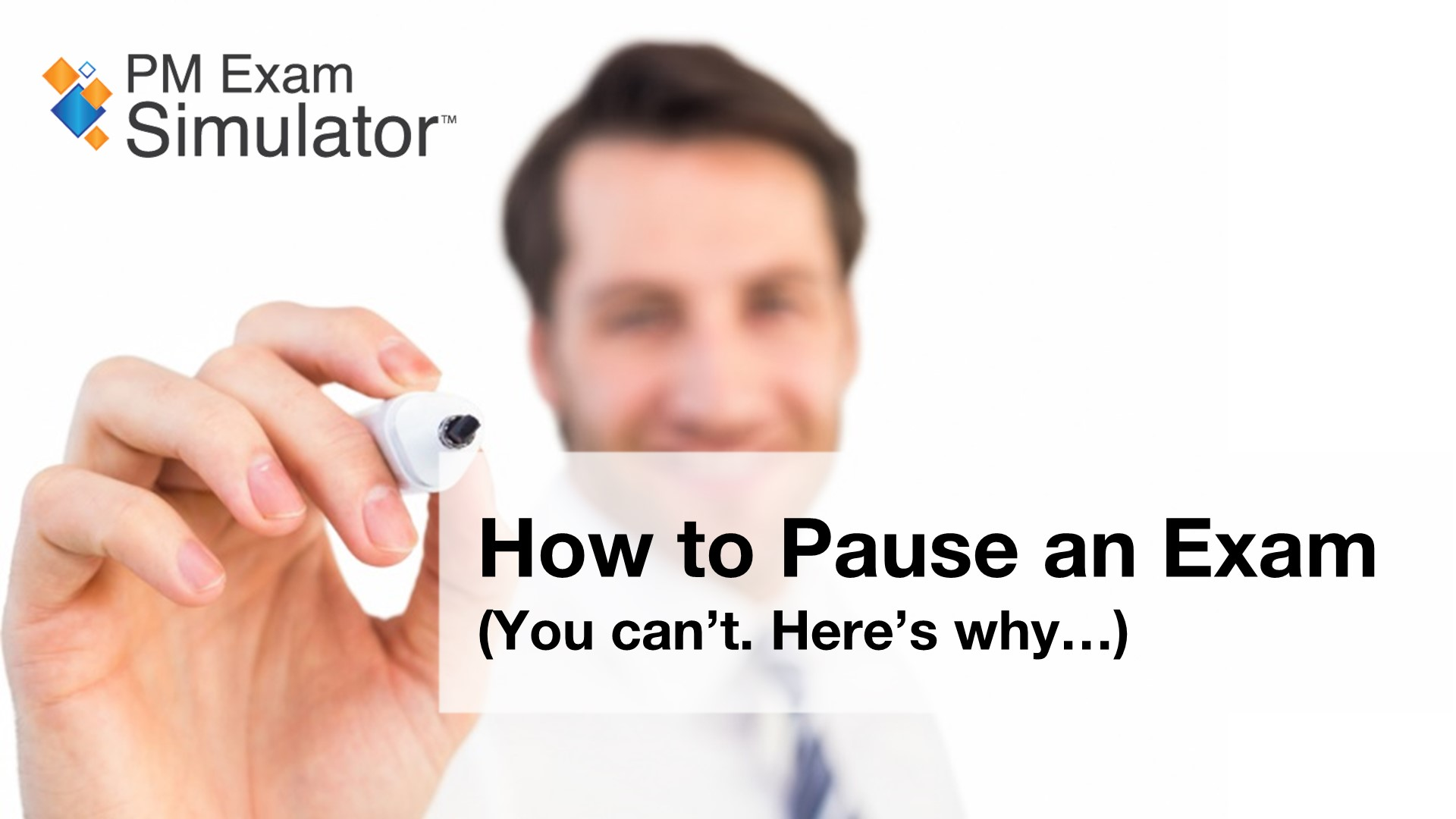 How to Pause an Exam (You can't. Here's why...)