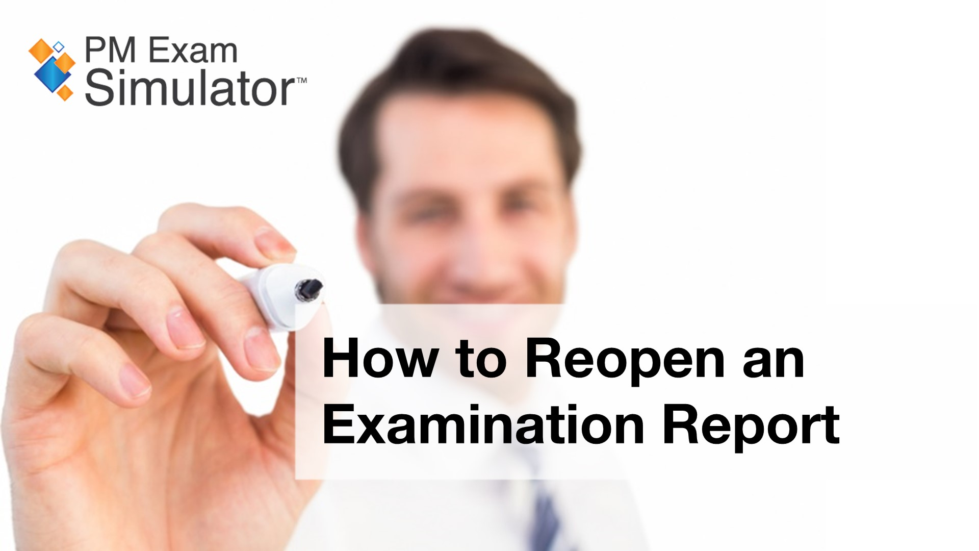 How to Reopen an Examination Report