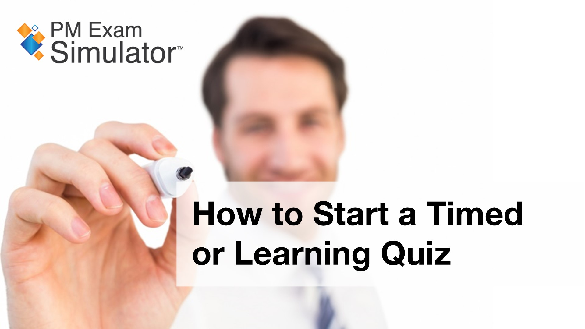 How to Start a Timed or Learning Quiz