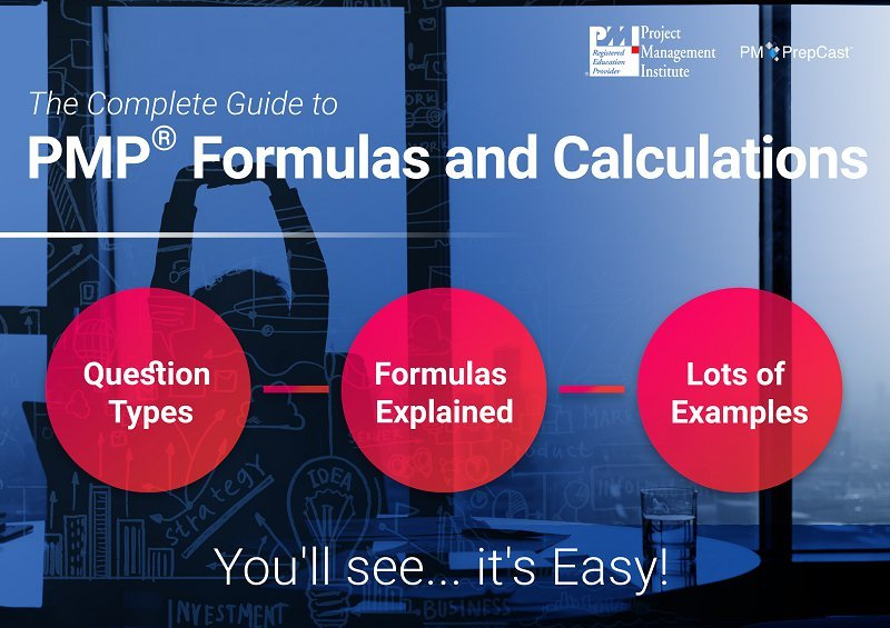Difficult math formulas for the PMP exam