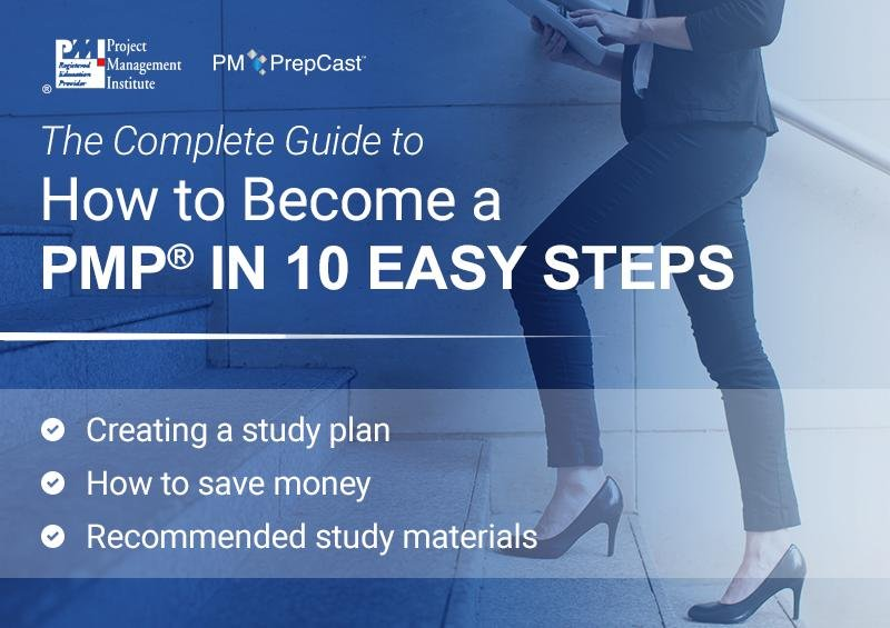 Guide to becoming PMP in 10 Steps