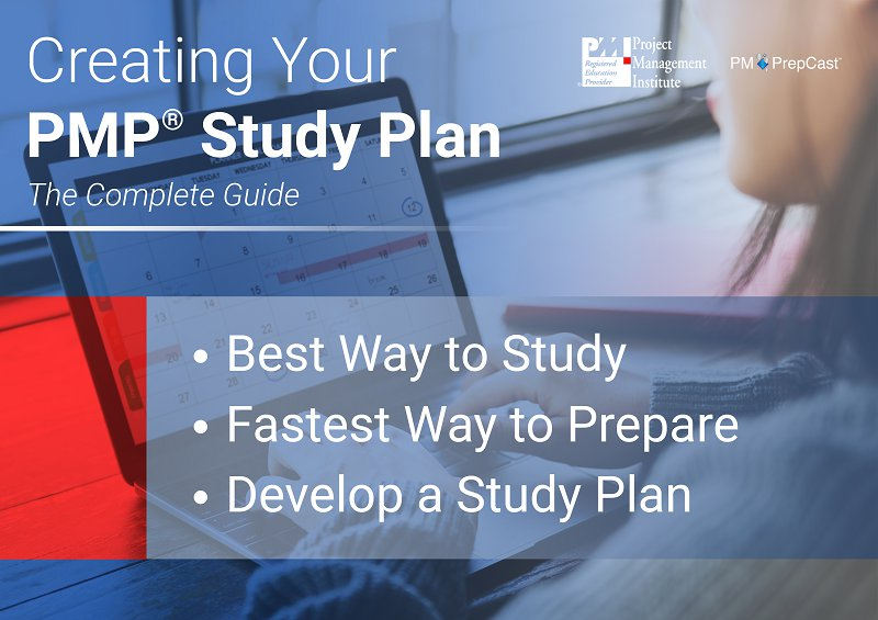 Guide to creating your PMP Study Plan