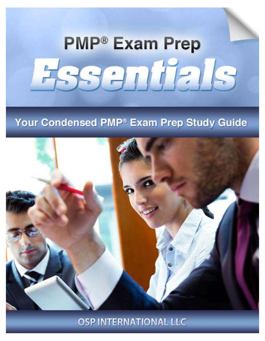 PMP Exam Prep Essentials Study Guide Page