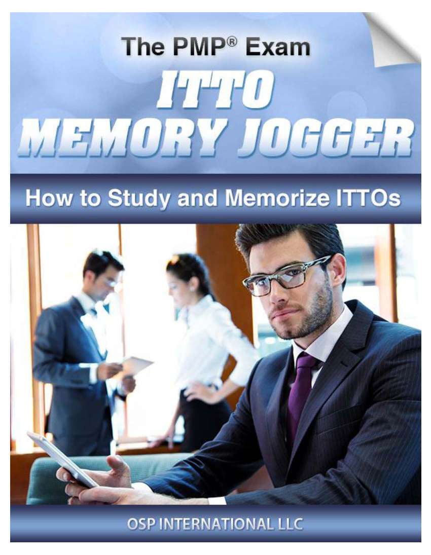 PMP Exam ITTO Memory Jogger Page