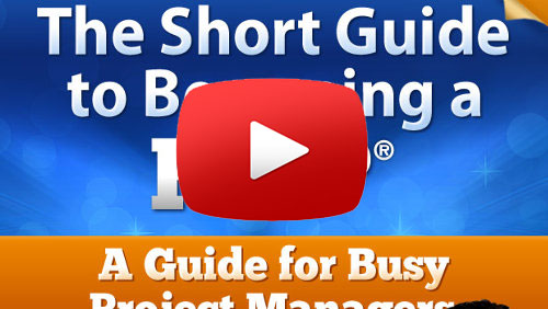 The Short Guide to Becoming A PMP YouTube Video